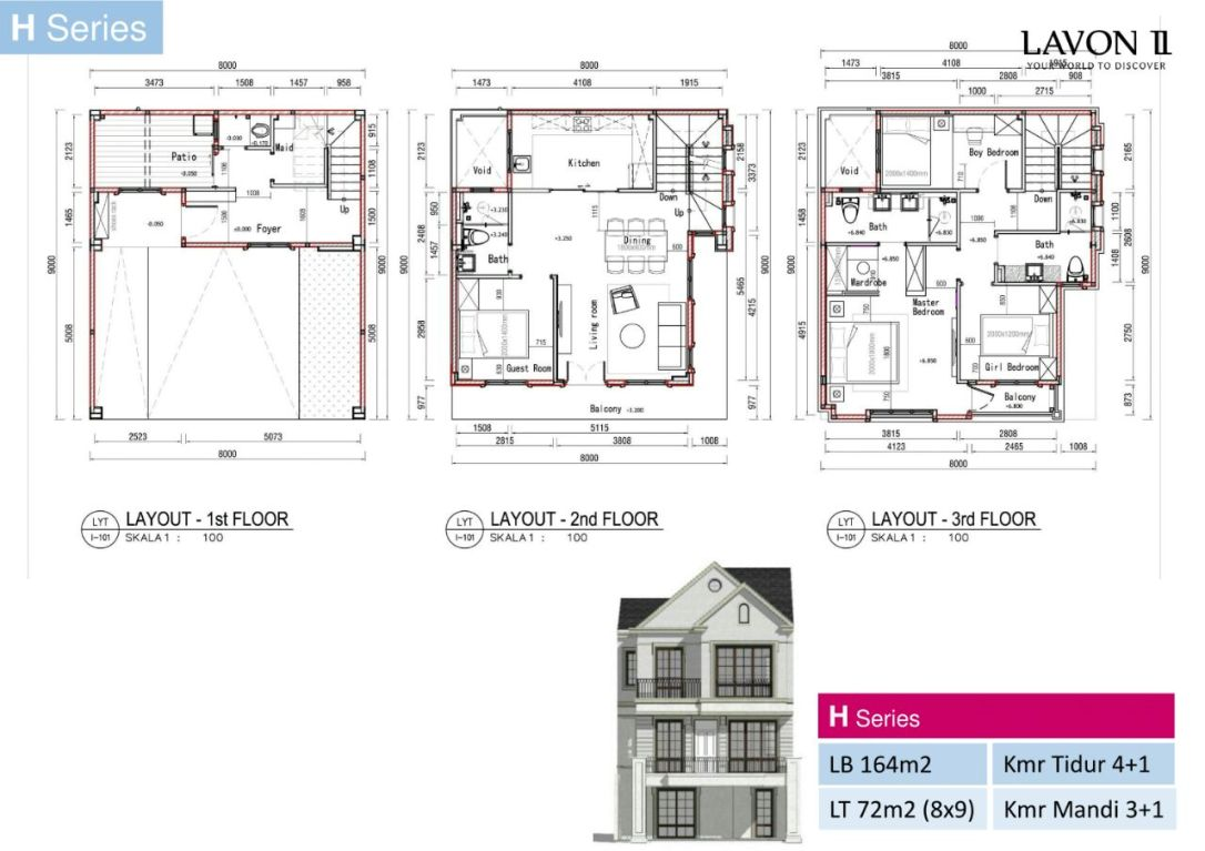 Floor Plan H Series Lavon 2