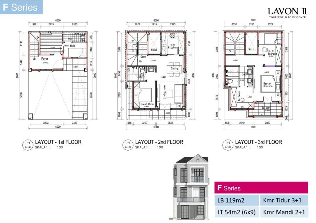 Floorplan F Series Lavon 2