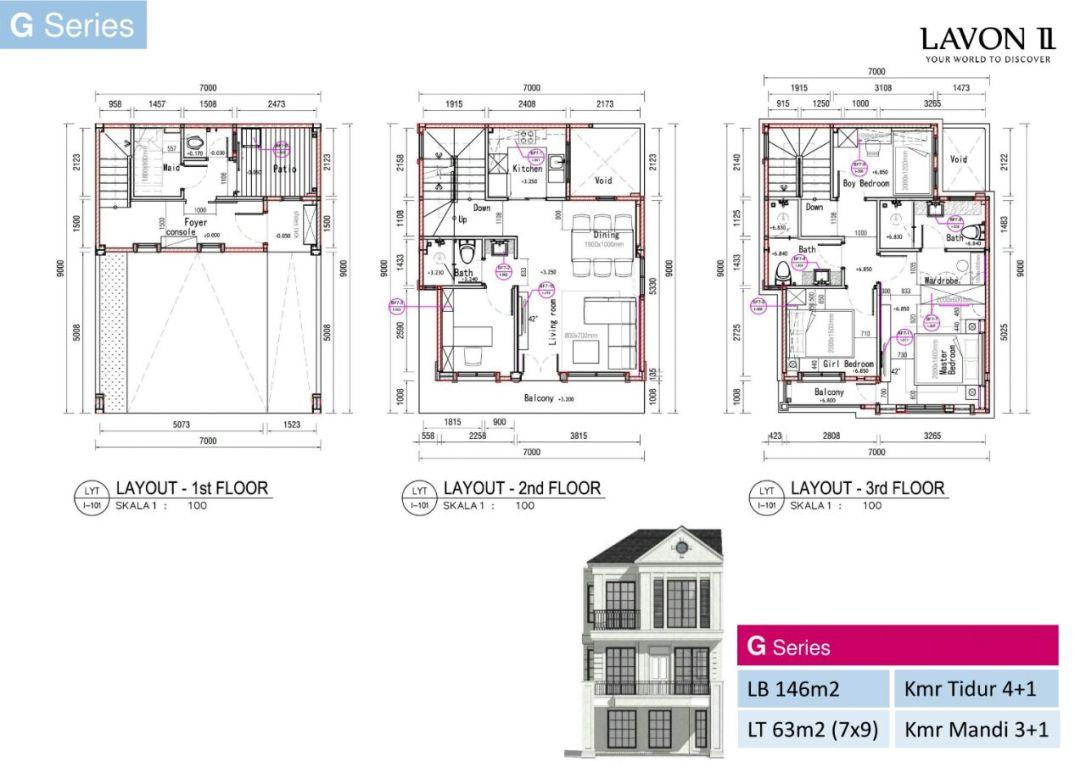 FloorPlan G Series Lavon 2